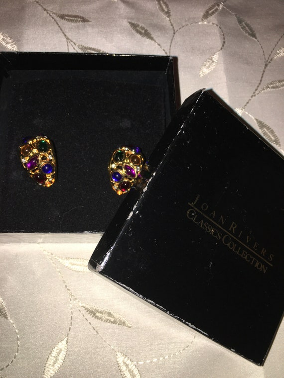 Joan Rivers Classics Collection Earrings - image 3