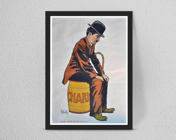 /'CHARLIE CHAPLIN/' A4 POSTER PRINT POSTED WITHIN 24 HOURS.