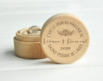 Box ring bearer - model Sainte-Anne