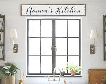 Gentil Nonnau0027s Kitchen, Nanau0027s Kitchen, Grandmau0027s Kitchen, Kitchen Signs,  Personalized Kitchen Signs, Farmhouse Kitchen, Country Kitchen