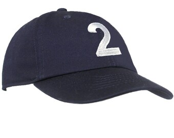 Two Year Old Birthday Baseball Hat