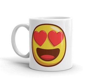 Smiley Emoji Mug Etsy