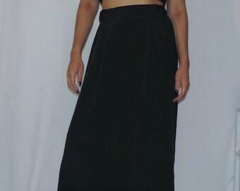 Long Black Skirt (small)