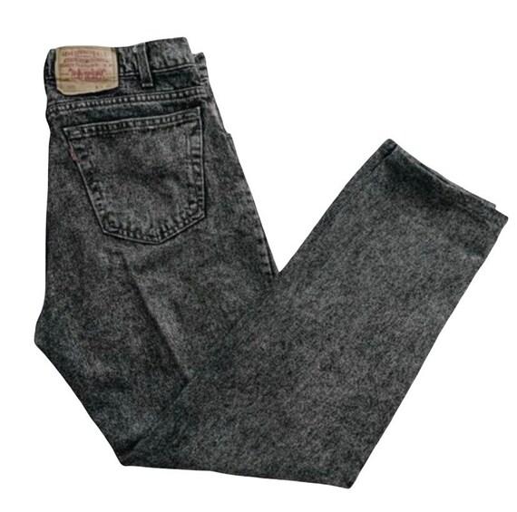 W34 Vintage 1990s 90s Levis Jeans , Vintage 550 L… - image 1