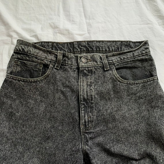 W34 Vintage 1990s 90s Levis Jeans , Vintage 550 L… - image 3