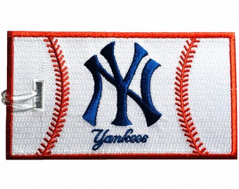 Yankees Embroidered Luggage Tag