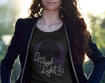 Wiccan clothing, Witch Clothing, Pagan Clothing, Occult Clothing, Wiccan T Shirt, Witch T Shirt