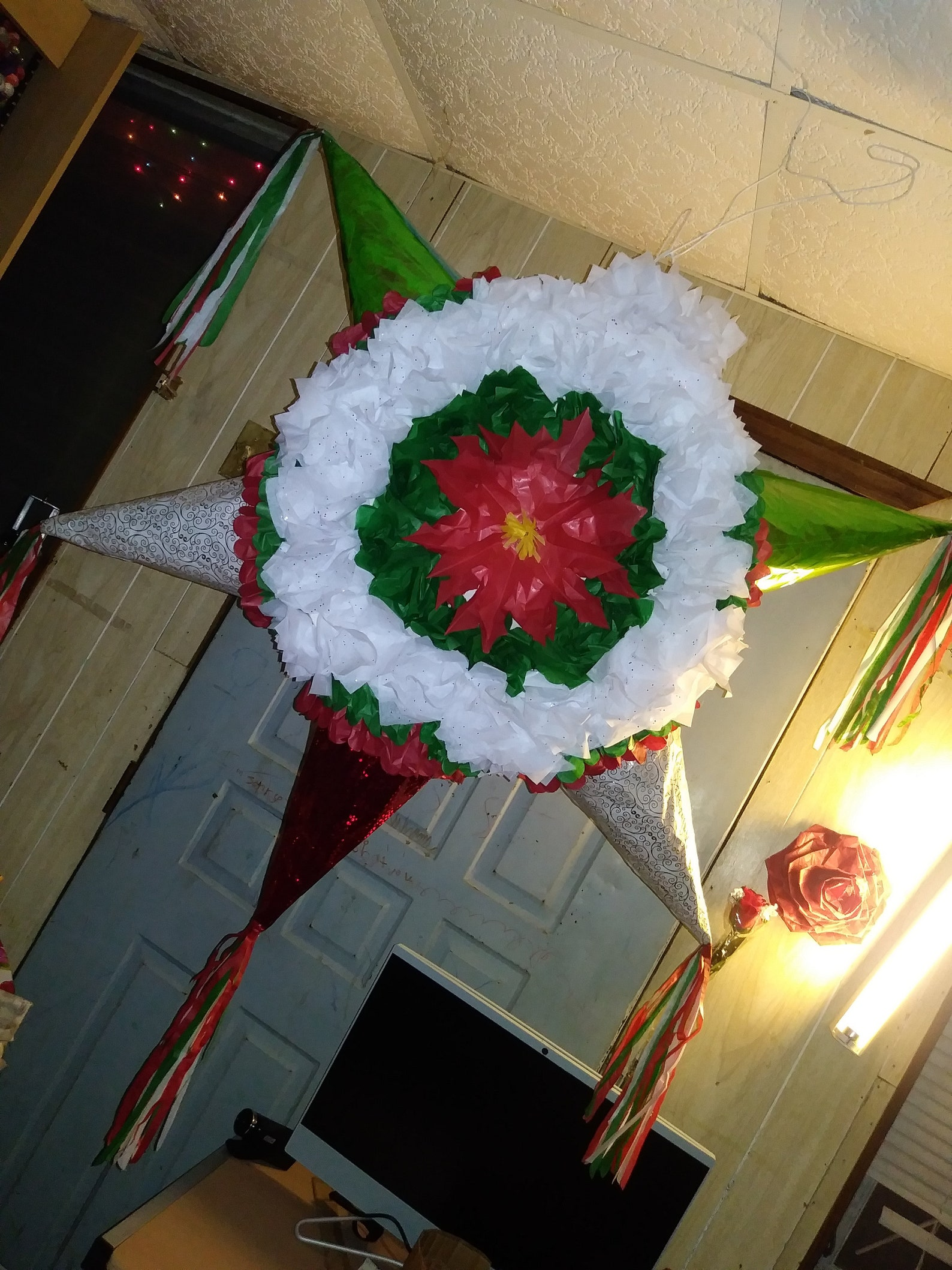 Christmas Star Pinatas