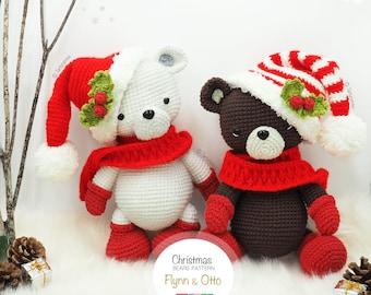 Amigurumi Christmas Bears / Tarturumies Crochet Pattern PDF • Flynn and Otto