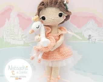 Amigurumi Ballerina Doll / Tarturumies Crochet Pattern PDF • Natascha and Odette