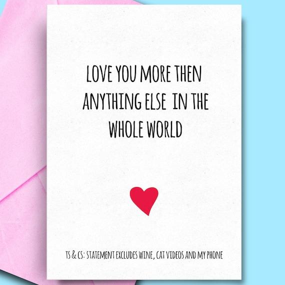 Birthday Cards Lover Funny For Partner Boyfriend Cheeky