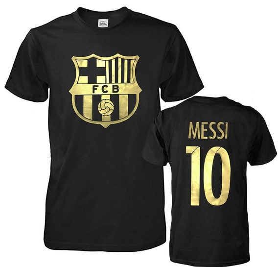 3f787cc92 Youth FC Barcelona Soccer Lionel Messi  10 Shirt Futbol Jersey T-Shirt