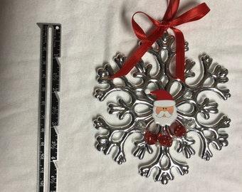 Snowflake Bunco ornament