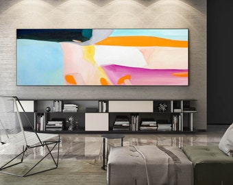 Extra Large Wall art - Abstract Painting on Canvas, Contemporary Art, Original Oversize Painting