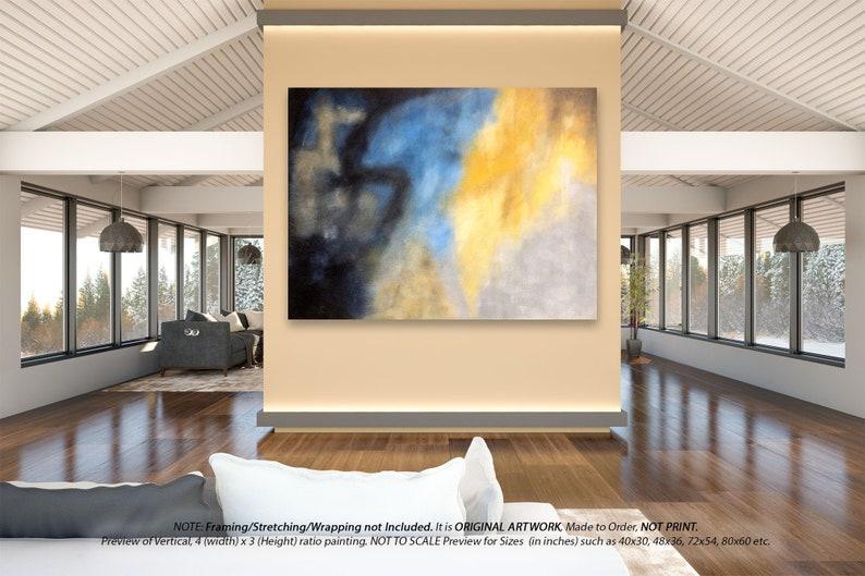 Grote Foto Aan De Muur.Originele Schilderij Op Canvas Extra Grote Muur Kunst Moderne Woondecoratie Kantoor Muur Kunst Grote Canvas Kunst Originele Kunstwerk Overmaatse