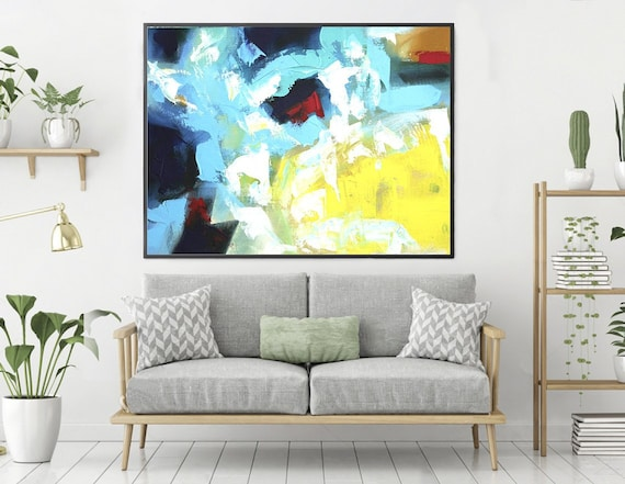 Heavy Texture ArtExtra Large Wall ArtContemporary Wall Art | Etsy
