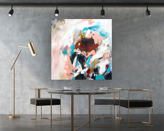 Extra Large Wall Art Original Abstract Painting on Canvas   Etsy