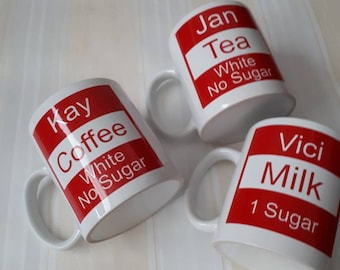 Mugs great for work place
