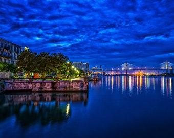 Old Savannah Wharf, Savannah, Georgia
