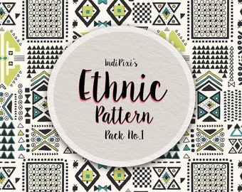 Ethnic Print Collection No.1 (Includes 5 Digital Patterns)