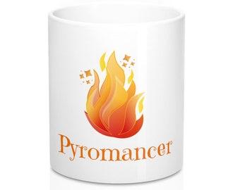 Fun Pyromancer Coffee Mug 11Oz  Fire Scrying Mug