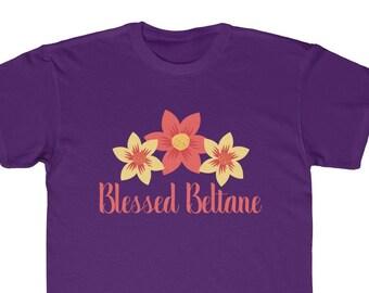 6f5c70078 Beltane Shirt for Kids Wicca Kids Shirt Blessed Beltane Celtic Holiday Pagan  Kids Regular Fit Tee