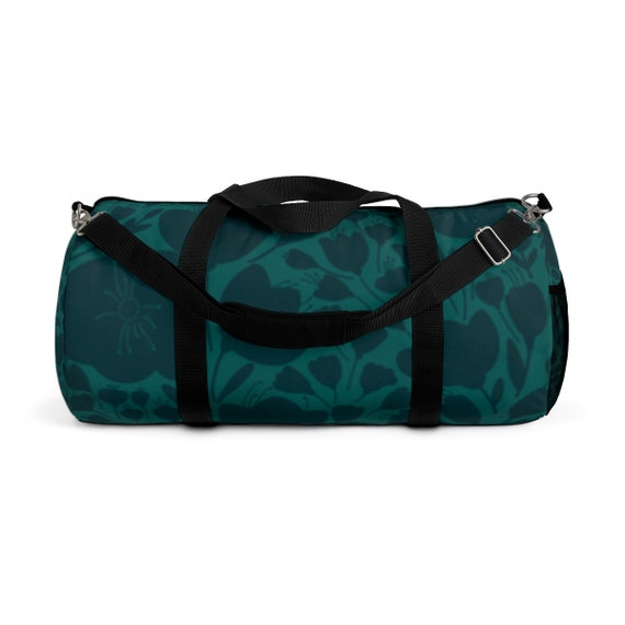 2079574fa4e9 Dreamy Floral Garden Duffle Bag Romantic Feminine Sports Bag