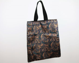 Ethnic Purple Shopper Bag