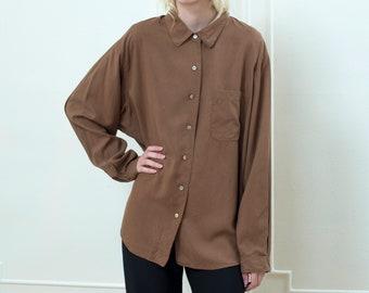 63755d513c6f0c tan silk blouse large