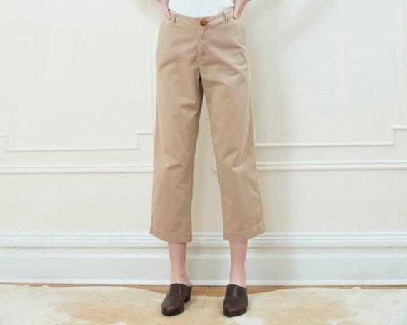 90s gap khaki pants medium | cropped khakis | prep