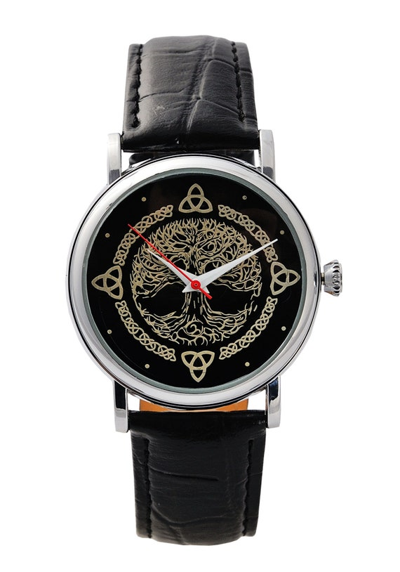 The Lord of the Rings Tree of Gondor Leather Watch | WB Shop