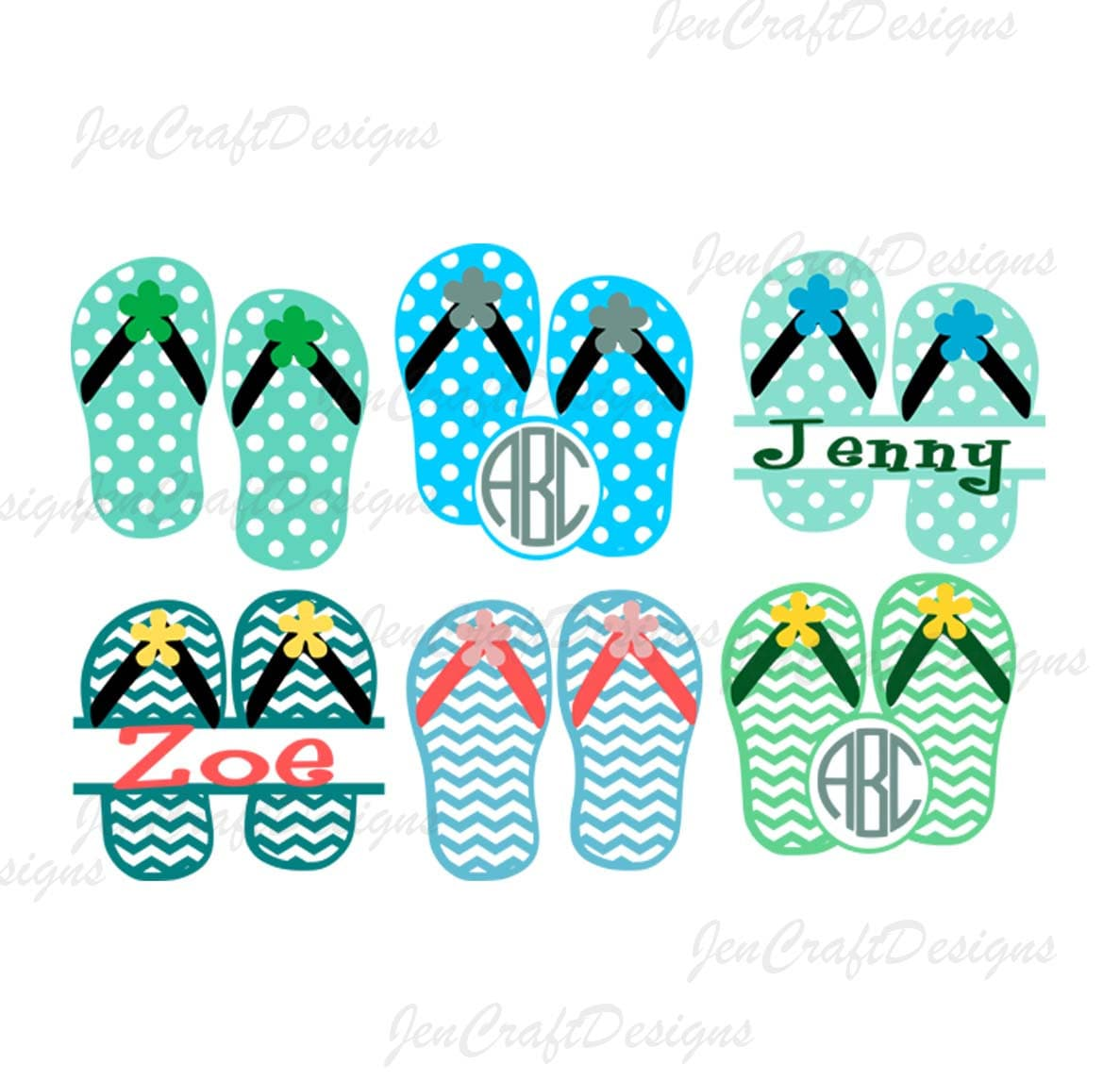 bea15cd52fd5 Flip Flops svg Monogram frames SVG Nautical SVG Files Summer