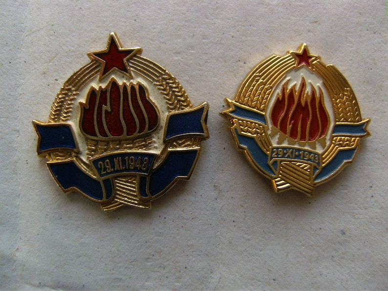 Yugoslavia Coat of Arms-Patch- 3,5 x 3,5