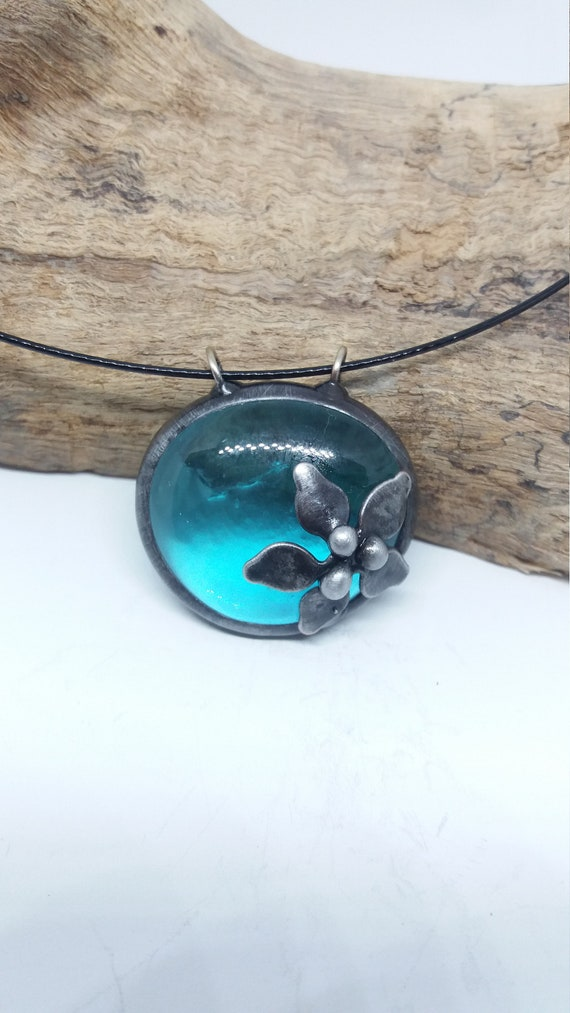 Turquoise Handmade Designer Pendant 925 Sterling Silver Pendant Blue Turquoise Pendant Blue Turquoise Jewelry Gift For Her Sale J70811