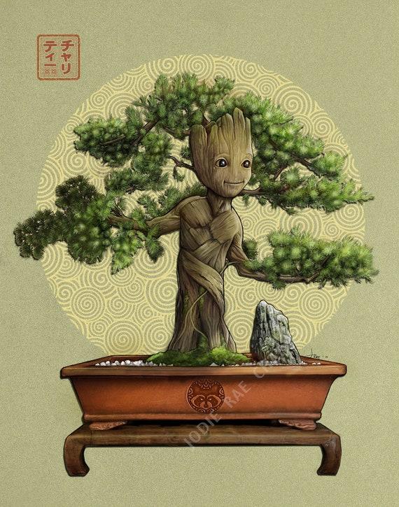 Baby Groot Bonsai