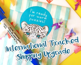 Upgrade to International Tracked Shipping