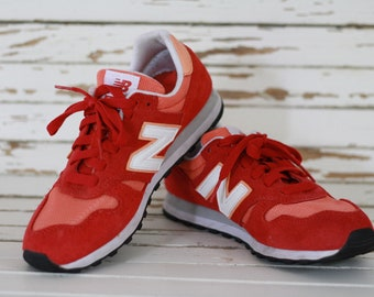 online store db2ab d0c8b NEW BALANCE 373 shoes 36,5  uk 4  usa 6 . Basket shoes. Red new balance.  Chaussures rouges oranges new balance 373. Sport shoes.