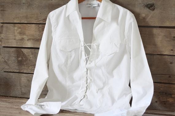BOHEMIAN CHIC  DESIGNER  WHITE  CROCHET BOUTIQUE  DRESS BLOUSE SHIRT TOP 8 10