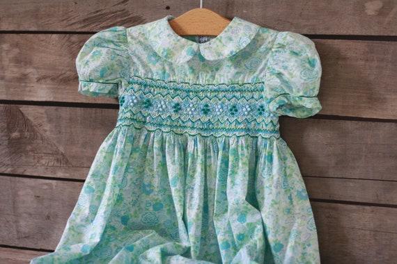 2-3 years  French handmade liberty dress     Dress