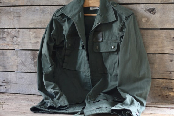 Unisex Never Used French vintage military jacket 8
