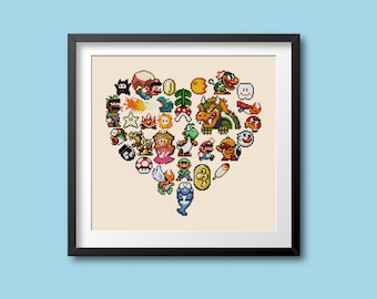 Super Mario World Princess Peach Toadstool Wood Etsy
