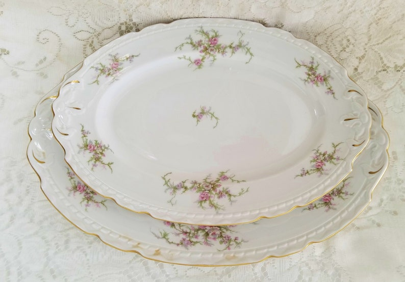 Awesome Mismatched China English Garden Roses Fabulous Floral Plates Funny Birthday Cards Online Elaedamsfinfo