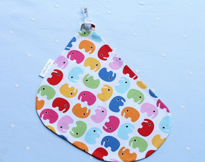 Breastfeeding/nursing cover, baby shower, gift idea - Coloured elephant