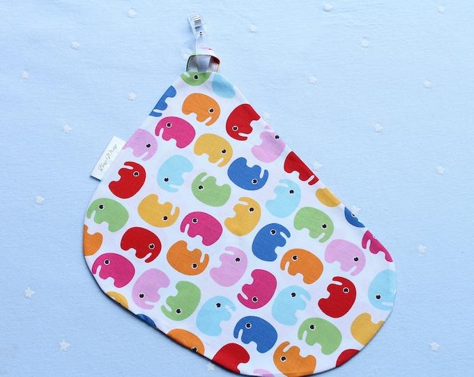 Breastfeeding/nursing cover, baby shower, gift idea - Coloured elephant