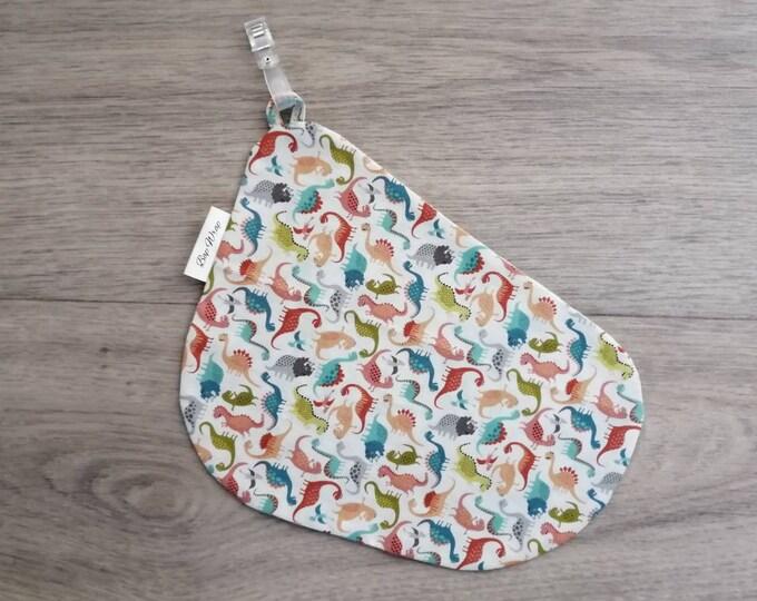 Breastfeeding/nursing cover, baby shower, gift idea - Dinosaur