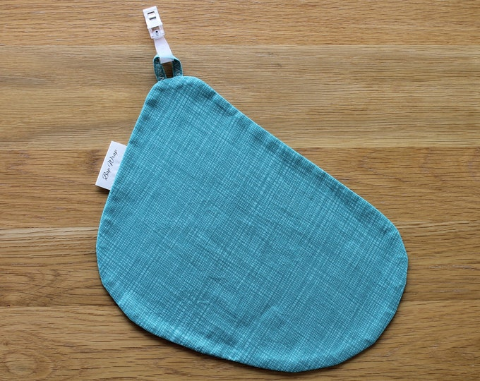 Breastfeeding/nursing cover, baby shower, gift idea - Green Check