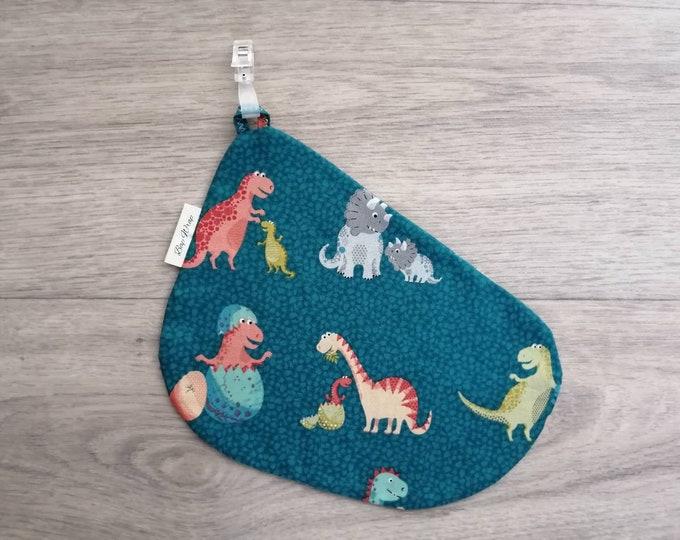 Breastfeeding/nursing cover, baby shower, gift idea - Dino baby