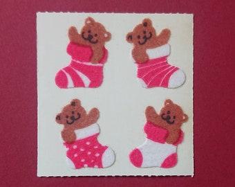 Sandylion Stickerabschnitt Prismatic 90s Sternschnuppen Sticker Stickeralbum