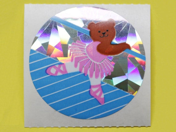 Stickeralbum Sticker Sandylion Vintage 90er Glitzer Prismatic Disney