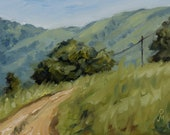 "Mountain road, 6"" x ..."
